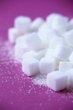 White Sugar Cubes Photographic Print by Veronique Leplat
