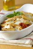 Pasta Al Forno Fotografisk tryk af Veronique Leplat