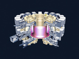 ITER Fusion Research Reactor Photographic Print by Mikkel Juul