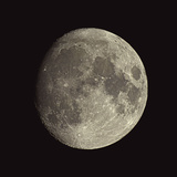 Waxing Gibbous Moon Premium Photographic Print by Eckhard Slawik