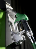 Unleaded Petrol Pump Photographic Print by Tek Image