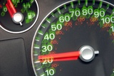 Speedometer Photographic Print by Johnny Greig