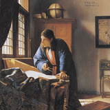 The Geographer, 17th Century Artwork Photographic Print by Sheila Terry
