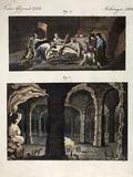 1770 Maastricht Mosasaur Discovery Photographie par Paul Stewart