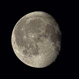 Waning Gibbous Moon Photographic Print by Eckhard Slawik