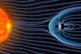 Earth's Magnetosphere, Artwork Photographic Print by Equinox Graphics