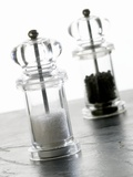 Salt And Pepper Mills Photographic Print by Mark Sykes