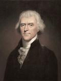 1800 Thomas Jefferson Portrait. Prints by Paul Stewart
