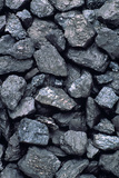 Lumps of High-grade Anthracite Coal Photographic Print by Kaj Svensson