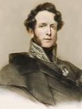 1840 Boucher De Perthes Colour Portrait Photographic Print by Paul Stewart