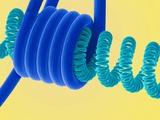 Light Bulb Filament, SEM Print by Steve Gschmeissner