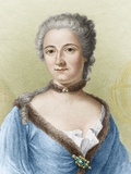 Emilie Du Chatelet, French Physicist Posters by Sheila Terry