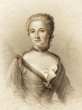 Emilie Du Chatelet, French Physicist Prints by Sheila Terry