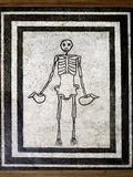 Roman Memento Mori Mosaic Posters by Sheila Terry