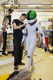 Advanced Spacesuit Photographic Print by Volker Steger