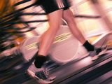 Running Machine Premium Photographic Print by Mark Sykes