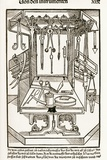 15th Century Surgical Equipment, Artwork Print by Sheila Terry