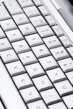Laptop Keyboard Print by Jon Stokes