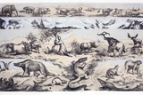 1860 Duncan's Prehistoric Epoch Panorama Prints by Paul Stewart