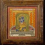 Krishna 19th Century Miniature Painting Premium Photographic Print by Paul Stewart