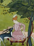Indian Miniature, Animal Kindness Ahimsa Photographic Print by Paul Stewart