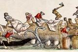 1560 Gesner Magnus Medieval Whaling Posters by Paul Stewart