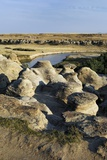 Eroded Sandstone Hoodoos, Alberta Photo by Kaj Svensson
