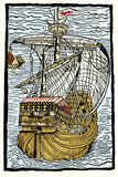 Columbus's Ship the Santa Maria Prints by Sheila Terry