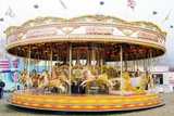 Fairground Carousel Photographic Print by Johnny Greig