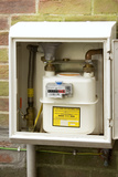 Domestic Gas Meter Photographic Print by Sheila Terry