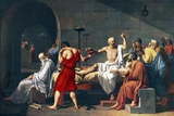 The Death of Socrates, 1787 Artwork Prints by Sheila Terry