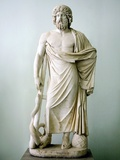 Roman Statue of Asclepius Photographic Print by Sheila Terry