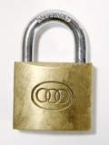 Padlock Photographic Print by Johnny Greig
