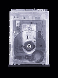 CD Drive, Simulated X-ray Photographic Print by Mark Sykes
