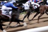 Wyścigi konne Reprodukcja zdjęcia autor Johnny Greig