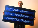 Electronic Ink Sign Photographic Print by Volker Steger
