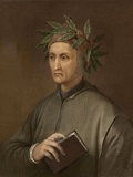Dante Alighieri Poet Wrote Divine Comedy Prints by Paul Stewart