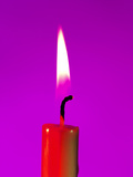 Candle Flame Photographic Print by Johnny Greig