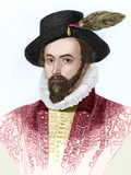 Sir Walter Raleigh , English Explorer Posters by Sheila Terry