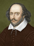 William Shakespeare, English Playwright Posters by Sheila Terry