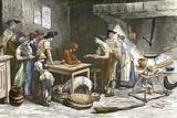 Marquis De Condorcet's Last Meal Prints by Sheila Terry
