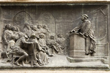 Giordano Bruno Teaching Photographic Print by Sheila Terry
