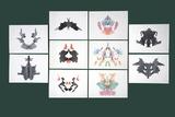 Rorschach Inkblot Test Fotodruck von Sheila Terry