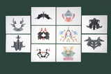 Rorschach Inkblot Test Prints by Sheila Terry