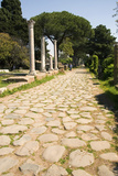 Roman Road, Ostia Antica Prints by Sheila Terry