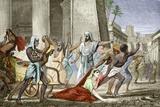 Death of Hypatia In Alexandria Fotografie-Druck von Sheila Terry