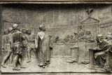 Giordano Bruno on Trial Photographic Print by Sheila Terry
