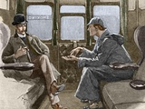 Sherlock Holmes And Dr. Watson Photographic Print by Sheila Terry