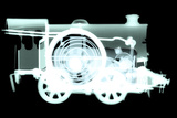 Spring Train, X-ray Photographic Print by Neal Grundy