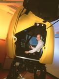 HeliFlight Helicopter Flight Simulator Poster by Volker Steger
